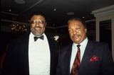 Rosey Grier Photo - Rosey Grier with Paul Winfield L1158 Photo by Bob V Noble-Globe Photos Inc