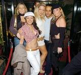 Becki Seddiki Photo - 056460 Becki Seddiki Jessie Lezard Ahmed Agil and Alexandra Taylor-Cheeky Girls and Andy Newton Lee celebrate their Birthday and new Christmas Charity Single Launch Girls and Boys with a party at Capisce in Mayfair London11-17-2004PHOTO BYOLIVER POLTER-ALPHA-GLOBE PHOTOS INC 2004A15920