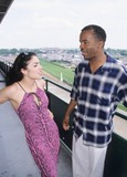 Tsianina Joelson Photo - David Alen Grier with Tsianina Joelson at the Oaks Churchill Downs Louisville Kentucky 2000 K18705loc Photo by Lisa Oconnor-Globe Photos Inc