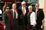 Peter Graves Photo - Peter Graves Honored with Star on the Hollywood Walk of Fame 6667 Hollywood Blvd Hollywood CA 103009 Peter Graves and Wife Joan Endress with Friends and Family Photo Clinton H Wallace-photomundo-Globe Photos Inc