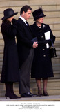 Lady Sarah Chatto Photo - Alpha 046796 150202 Lord David Linley (Son) Lady Sarah Chatto (Daughter) Hm Queen -Princess Margaret Funeral Credit AlphaGlobe Photos Inc