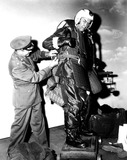 James Stewart Photo - James Stewart on the Set of Air Command SmpGlobe Photos Inc