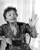 Edith Piaf Photo - Edith Piaf Photo by Bob EastGlobe Photos Inc