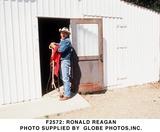 Ronald Reagan Photo -  Ronald Reagan Photo Supplied by Globe Photosinc