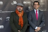 Adema Photo - SEVILLE SPAIN November 19 President of ADEMA Felipe Vivas and Dr of Andalusian Institute  of Youth (IAJ) Raul Perales (L-R) attends the photocall for the presentation of the XI ediction of -Andalucia de Moda- in Alfonso XIII Hotel of Seville Spain