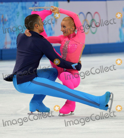 Aliona Savchenko Photo - XXII Olympic Winter Games Figure Skating Pairs Short ProgramGERAliona SAVCHENKORobin SZOLKOWYCredit RussianLookface to face- Germany Austria Switzerland and USA rights only -