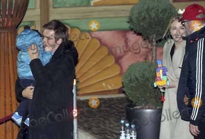 philipp lahm Photo - Philipp Lahm mit Frau Claudia und Sohn Julian attending the FC Bayern Munich WeihnachtsfeierChristmas Party at the Theatro of Alfons_Schuhbeck in Munich 08122013Credit Nickelsface to face