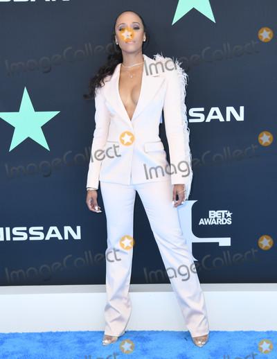 Amanda Booz Photo - 23 June 2019 - Los Angeles California - Amanda Booz 2019 BET Awards held at the Microsoft Theater Photo Credit Birdie ThompsonAdMedia