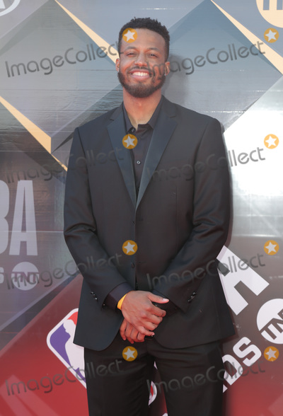 Aaron Ware Photo - 25 June 2018 - Santa Monica California - Aaron Ware  2018 NBA Awards held at Barker Hangar Photo Credit PMAAdMedia