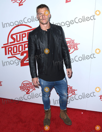 Alan Ritchson Photo - 11 April 2018 - Hollywood California - Alan Ritchson Super Troopers 2 Los Angeles Premiere held at Arclight Hollywood Photo Credit Birdie ThompsonAdMedia