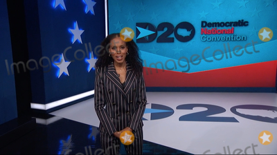 Kerri Washington Photo - In this image from the Democratic National Convention video feed American actress Kerry Washington makes introductory remarks on the third night of the convention on Wednesday August 19 2020Credit Democratic National Convention via CNPAdMedia