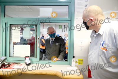 Photos From Prince Charles Visits Royal Mails Delivery Office in Cirencester