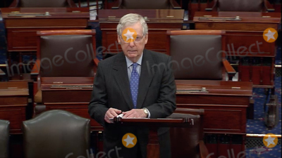Photo - McConnell Statement on the COVID-19 Crisis on the US Senate Floor