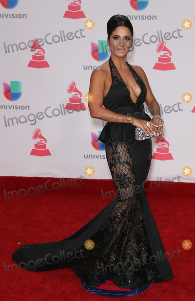 Esther Pichardo Photo - 17 November 2016 - Las Vegas NV - Esther Pichardo  2016 Latin Grammy arrivals at T-Mobile Arena  Photo Credit MJTAdMedia