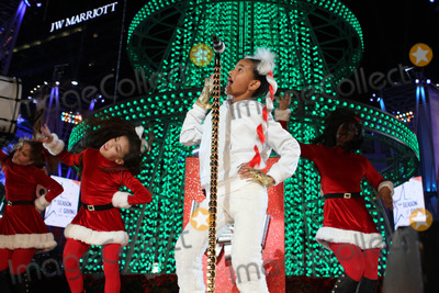 Photo - The Holiday Tree Lighting At LA Live  Opening Of LA Kings Holiday Ice