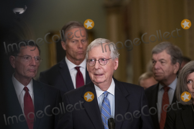 Photos From Senate Republicans policy luncheon press conference
