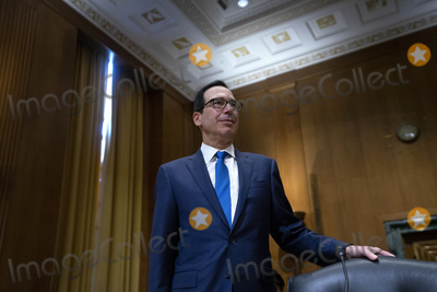 Photo - United States Secretary of the Treasury Steven T Mnuchin Testifies on Capitol Hill