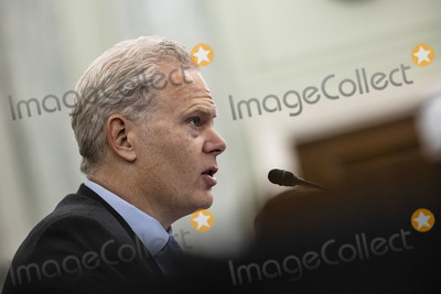 Richard Smith Photo - Richard Smith Regional President of the Americas and Executive Vice President of FedEx Express testifies during a Senate Commerce Science and Transportation Subcommittee hearing on the logistics of transporting a COVID-19 vaccine in Washington DC on December 10 2020 Once a vaccine is approved by the FDA emergency approval of Pfizers Covid vaccine coming as early as today the next hurdle is making sure the vaccine gets to where it is most needed Credit Samuel Corum  Pool via CNPAdMedia