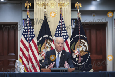 Photos From DC: President Joe Biden hosts a meeting with business leaders and CEOs on the COVID-19 response