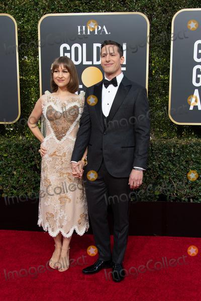 Joanna Newsom Photo - 06 January 2018 - Beverly Hills California - Joanna Newsom and Andy Samberg 76th Annual Golden Globe Awards held at the Beverly Hilton Photo Credit HFPAAdMedia