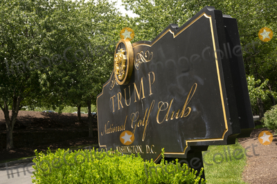 Photo - The sign for Trump National Golf Club is seen in Sterling Virginia on Sunday August 2 2020  Credit Stefani Reynolds  CNPAdMedia