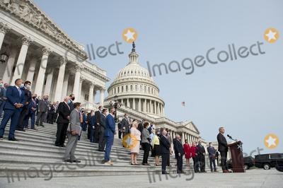 Photo - President Rep Raul Ruiz D-Calif and Sen Kirsten Gillibrand D-NY