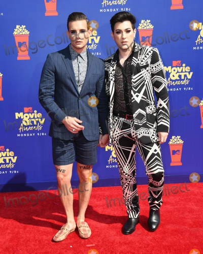 Photo - 15 June 2019 - Santa Monica California - Nico Tortorella Manny MUA 2019 MTV Movie and TV Awards held at Barker Hangar Photo Credit Birdie ThompsonAdMedia