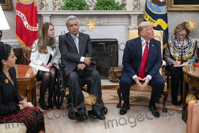 Photos From Lenin Moreno visits President Trump at White House