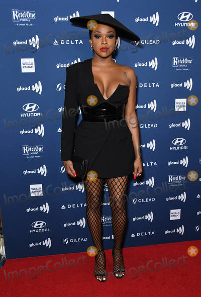 Amiyah Scott Photo - 28 March 2019 - Beverly Hills California - Amiyah Scott 30th Annual GLAAD Media Awards held at Beverly Hilton Hotel Photo Credit Birdie ThompsonAdMedia
