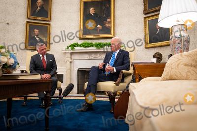 Photo - Joe Biden meets with King Abdullah II - Washington