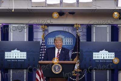 Photos From President Trump Press Briefing