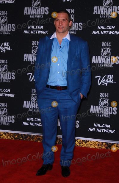 Alex Ovechkin Photo - 24 June 2014 - Las Vegas Nevada -  Alex Ovechkin  2014 NHL Awards red carpet at The Wynn Las Vegas Photo Credit MJTAdMedia