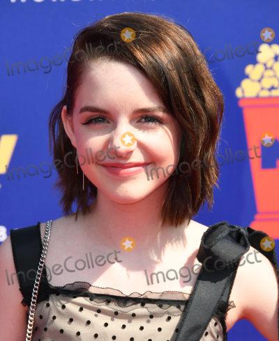 Photo - 15 June 2019 - Santa Monica California - McKenna Grace 2019 MTC Movie and TV Awards held at Barker Hangar Photo Credit Birdie ThompsonAdMedia