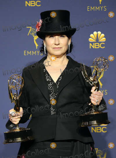 Amy Sherman Photo - 17 September 2018 - Los Angles California - Amy Sherman-Palladino 70th Primetime Emmy Awards held at Microsoft Theater LA LIVE Photo Credit Faye SadouAdMedia
