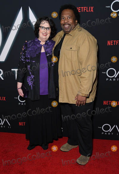 Photo - 18 March 2019 - Los Angeles California - Phyllis Smith Leslie David Baker Netflixs The OA Part II Los Angeles Premiere held at LACMA Photo Credit Birdie ThompsonAdMedia