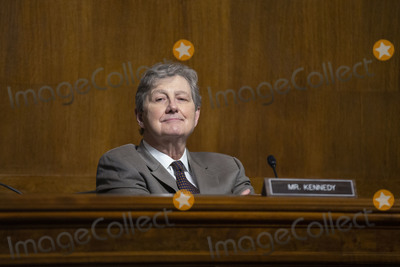 Photo - United States Senator John Neely Kennedy (Republican of Louisiana) listens during a US Senate Committee on the Judiciary hearing on Capitol Hill in Washington DC US on Wednesday June 24 2020  Credit Stefani Reynolds  CNPAdMedia