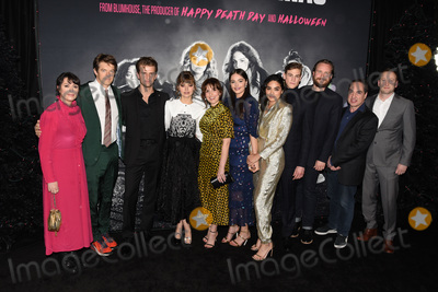 April Wolfe Photo - 05 December 2019 - Hollywood California - April Wolfe Jason Blum Ben Black Imogen Poots Sophia Takal Lily Donoghue Brittany OGrady Simon Mead Adam Hendricks Ben Cosgrove Zac Locke Black Christmas Special Screening held at at Regal LA Live Photo Credit Billy BennightAdMedia
