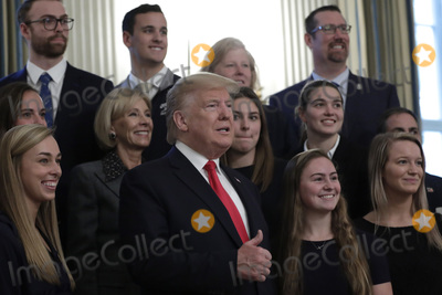 Photos From Donald Trump Greets College Athletes