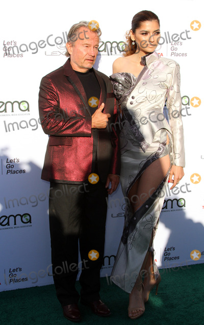 Photo - 23 September 2017 - Santa Monica California - John Savage and Blanca Blanco 27th Annual EMA Awards Hosted by Jaden Smith held at Barker Hangar In Santa Monica Photo Credit AdMedia
