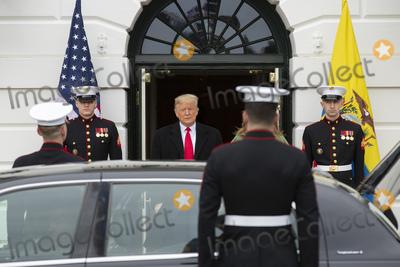 Photo - United States President Donald J Trump Meets with President of Ecuador Lenn Moreno at the White House
