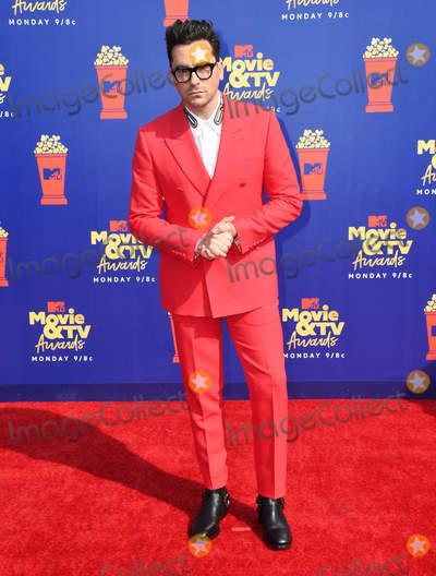 Photo - 15 June 2019 - Santa Monica California - Dan Levy 2019 MTV Movie and TV Awards held at Barker Hangar Photo Credit Birdie ThompsonAdMedia