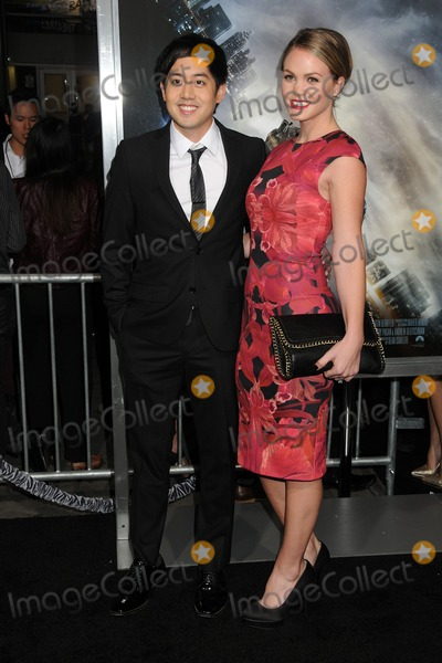 Allen Evangelista Photo - 27 January 2015 - Hollywood California - Allen Evangelista Christina Burhoe Project Almanac Los Angeles Premiere held at the TCL Chinese Theatre Photo Credit Byron PurvisAdMedia