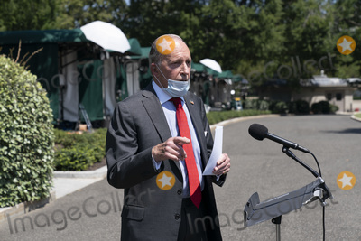 Photos From Director of the National Economic Council Larry Kudlow Speaks to the Media