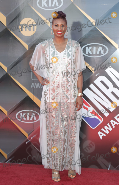 Angel McCoughtry Photo - 25 June 2018 - Santa Monica California - Angel McCoughtry 2018 NBA Awards held at Barker Hangar Photo Credit PMAAdMedia