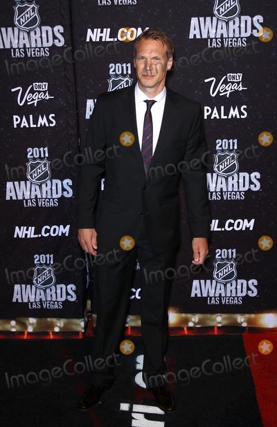 Niklas Lidstrom Photo - 22 June 2011 - Las Vegas Nevada - Niklas Lidstrom  2011 NHL Awards at the Palms Casino Resort  Photo Credit MJTAdMedia