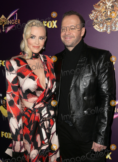 Photo - 13 December 2018 - West Hollywood California - Jenny McCarthy Donnie Wahlberg Foxs The Masked Singer Premiere Karaoke Event held at The Peppermint Club Photo Credit Faye SadouAdMedia