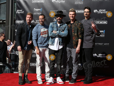 Photo - Backstreet Boys Handprint Ceremony