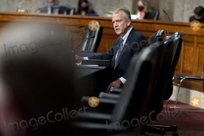 alaska Photo - United States Senator Dan Sullivan (Republican of Alaska) speaks at a hearing to examine United States Special Operations Command and United States Cyber Command in review of the Defense Authorization Request for fiscal year 2022 and the Future Years Defense Program on Capitol Hill Thursday March 25 2021 in Washington Credit Andrew Harnik  Pool via CNPAdMedia