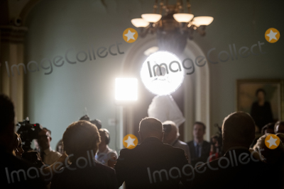Photos From Democrat Senate Luncheon Press Conference