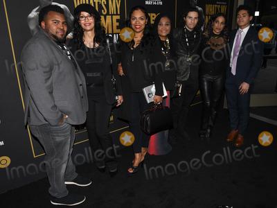 Ali Family Photo - 08 May 2019 - Los Angeles California - Ali Family Whats My Name Muhammad Ali HBO Premiere held at Regal Cinemas LA LIVE 14 Photo Credit Billy BennightAdMedia